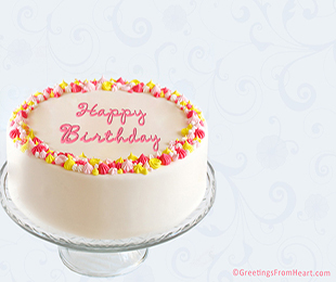 write your message to recipient on birthday card